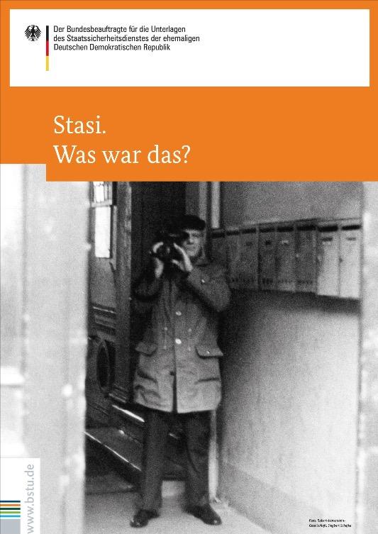 """""""Stasi. Was war das?"""" / Poster-Ausstellung"""